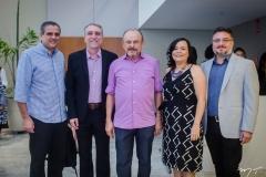 André Verçosa, Mauro Costa, Honório Pinheiro, Djane Nogueira e Apolônio Aguiar