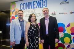 Apolônio Aguiar, Djane Nogueira e Mauro Costa