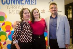 Cláudia Albuquerque, Edilene Dantas e Apolônio Aguiar