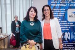 Cláudia Alcântara e Cintia Cavalcante