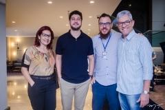 Cleide Castro, João Paulo Juaçaba, Cleuber Andrade e Nelson Gonçalves