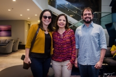 Emanuela França, Adriana Costa e André Jotha