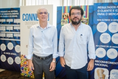 Stelio Gama e Maurício Lima