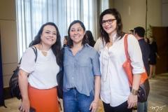 Manuela Monteiro, Renata Caldas e Renata Vasconcelos