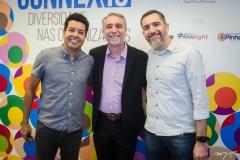 Marcelo Vieira, Mauro Costa e Maurício Costa