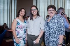 Maria José Luz, Renata Fernandes e Madalena Matos