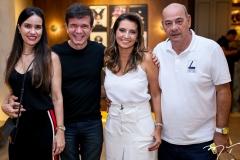 Luciana Menezes, Waldonys, Márcia e Fernando Travessoni