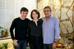 Waldonys, Ana Elisa e David Perdigão