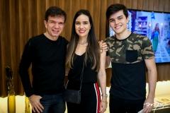 Waldonys, Luciana e Luciano Menezes