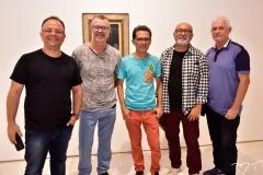 Marcos Oriá, Jorge Luiz, Cardoso Junior, Mário Sanders e Júlio Maciel