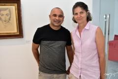 Silvano Tomaz e Cecilia Bichucher