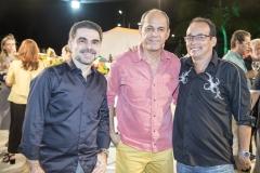 Isaac Furtado, Mano Alencar e Ricardo Tavares