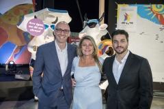 Miguel Jarros, Catherine Duvignau e Ricardo Vasconcelos