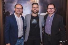 André Moura, Carlos Medina e João Paulo