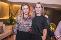 Camile Cruz e Luciana Grangeiro