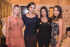 Daniele Dias, Luara Ciarlini, Juliana Fernandes e Camila Fontenele