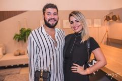 Iury Costa e Letícia Freire