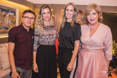 Lindeberg Fernandes, Camile Cruz, Luciana Grangeiro e Michele Brito