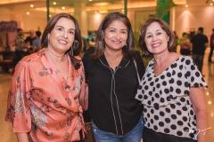 Márcia Albuquerque, Fátima Pontes e Alice Aguiar
