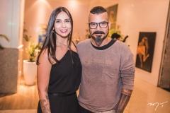 Mayara Soares e André Barros Leal