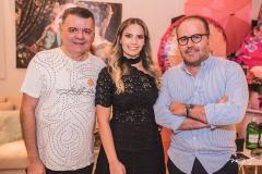 Omar de Albuquerque, Sabrina Max e Roberto Pamplona