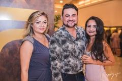 Paula Picanço, Rodolfo Santiago e Débora Oliveira