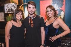 Raquel Chaib, Kaian Meira e Katinha Rodrigues