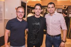 Renan Cunha, Pedro Paulo Rolim e Joab Pompeu