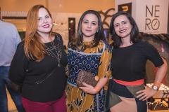 Renata Reis, Sara Carneiro e Marília Coutinho