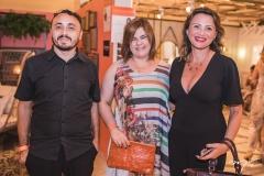 Ricardo Rodrigues, Renata Lima e Teresa Andrade