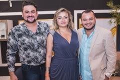 Rodolfo Santiago, Paula Picanço e Henrique Morais