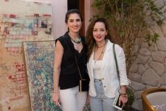 Cateherine Nunes e Lara Magalhães