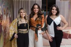 Erica Dantas, Fernanda Levy e Juliana Rolim