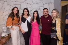 Fernanda Levy, Juliana Rolim, Isabele Temoteo, Xand e Erica Dantas