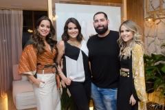 Fernanda Levy, Juliana Rolim, Luiz Victor Torres e Erica Dantas