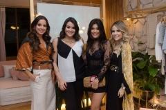 Fernanda Levy, Juliana Rolim, Mônica Pinto e Erica Dantas
