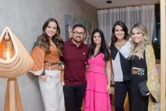 Fernanda Levy, Xand, Isabele Temoteo, Juliana Rolim e Erica Dantas