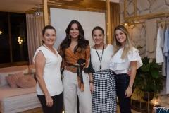 Geni Correia Lima, Fernnda Levy, Patricia Macedo e Bruna Magalhães