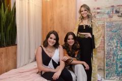Juliana Rolim, Fernanda Levy e Erica Dantas