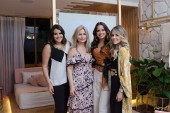 Juliana Rolim, Linda Nunes, Fernanda Levy e Erica Dantas