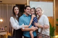 Sara, Paulo Eduardo, Maria Paula e Alexandra Rolim