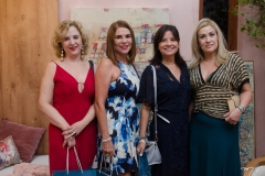 Solange Palhano, Jane Juaçaba, Yamara Silvero e Regina Mindello