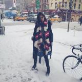 Dani Pontes em NY