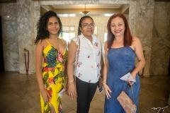 Ana Júlia Sousa, Maria Salete Carneiro e Ana Maria Sobrinho