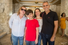 Mirian Marinho, João Franco, Genilda Azevedo e Rogerio Franco