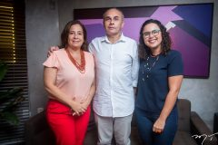 Ana Xavier, Luiz Henrique e Amélia Gomes