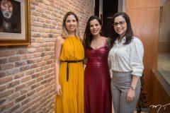 Denise Thomaz, Lara Rosado e Marília Crisóstomo