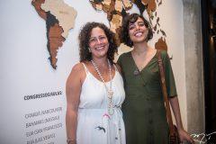 Liana Feingold e Rafaela Vasconcelos