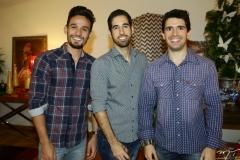 Daniel Pascoalino, Rodrigo Cabral e Alexandre Andrade