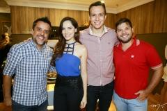 João Paulo, Scarlett Soares, Felipe Costa e Neto Gomes
